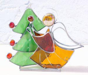 Angel Decorating Tree #2