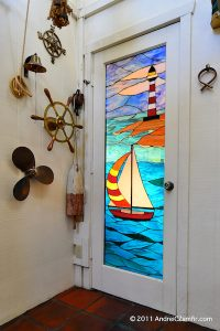 Nautical Door Panel
